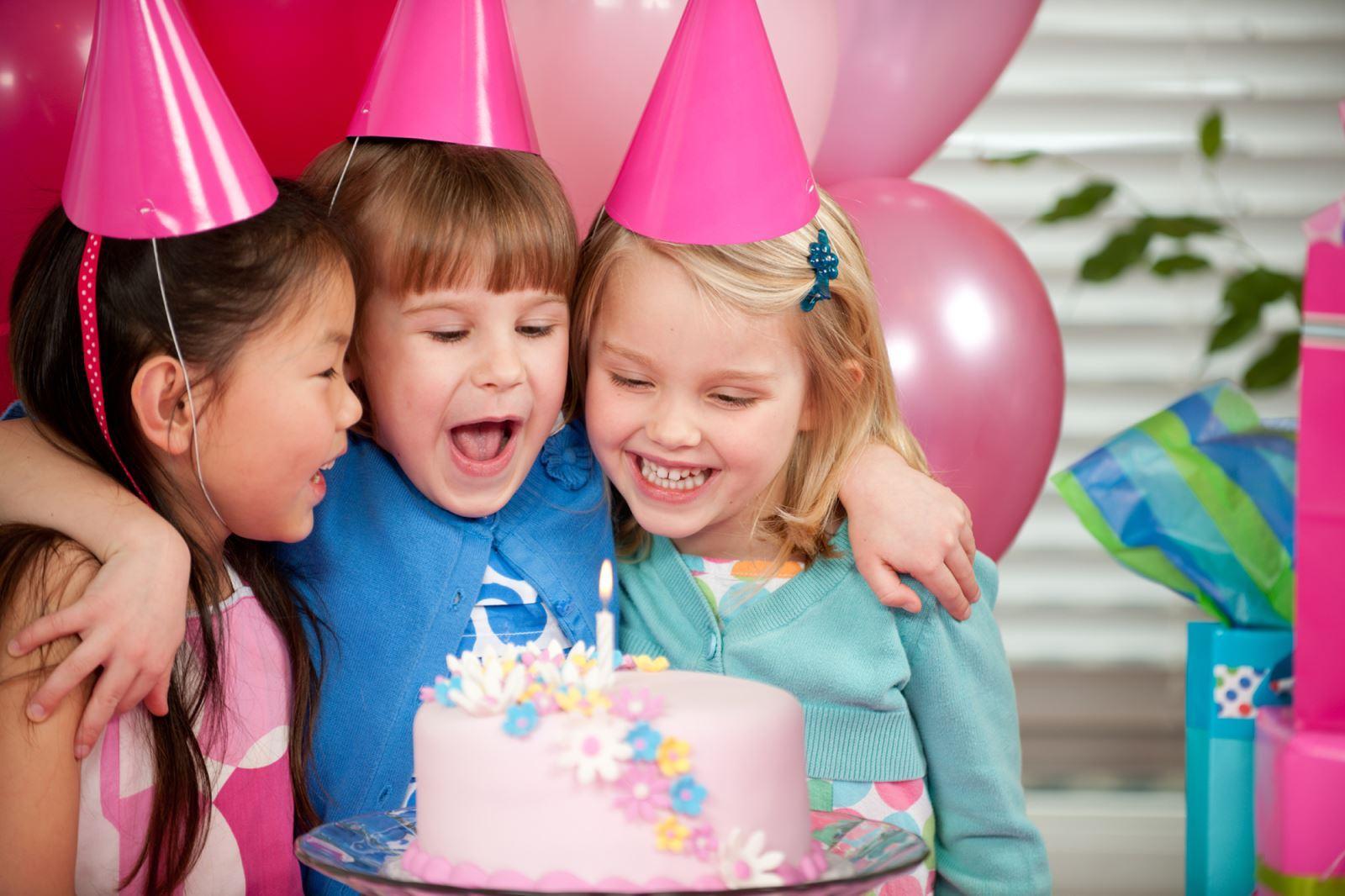 Волшебного дня, картинки на день рождения торты и дети