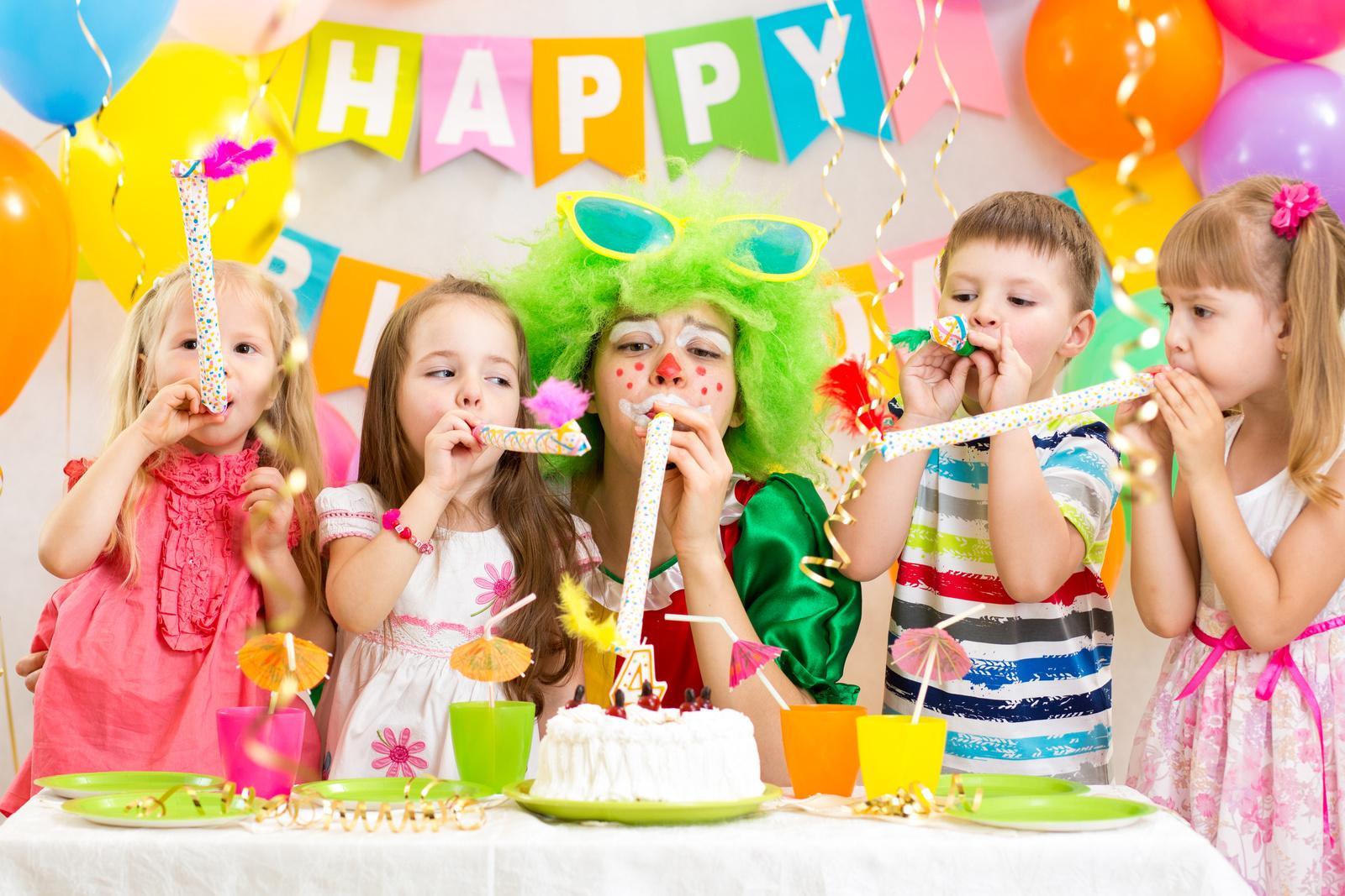 Новогодние открытки, день рождения детей картинки